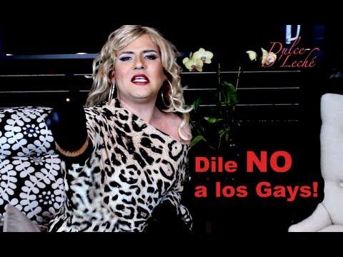Mujer en contra de el matrimonio gay [VIDEO]