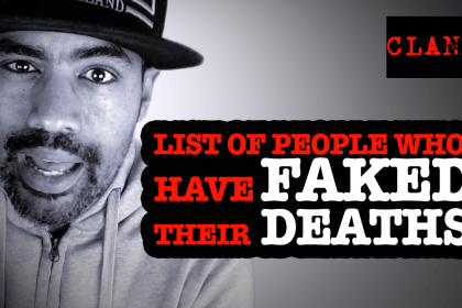people who have faked their death