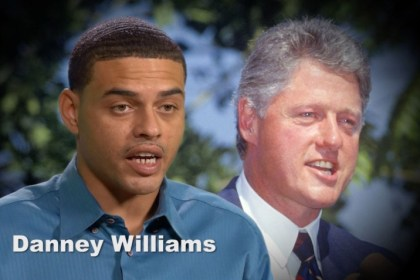 Danney Williams Bill Clinton Son