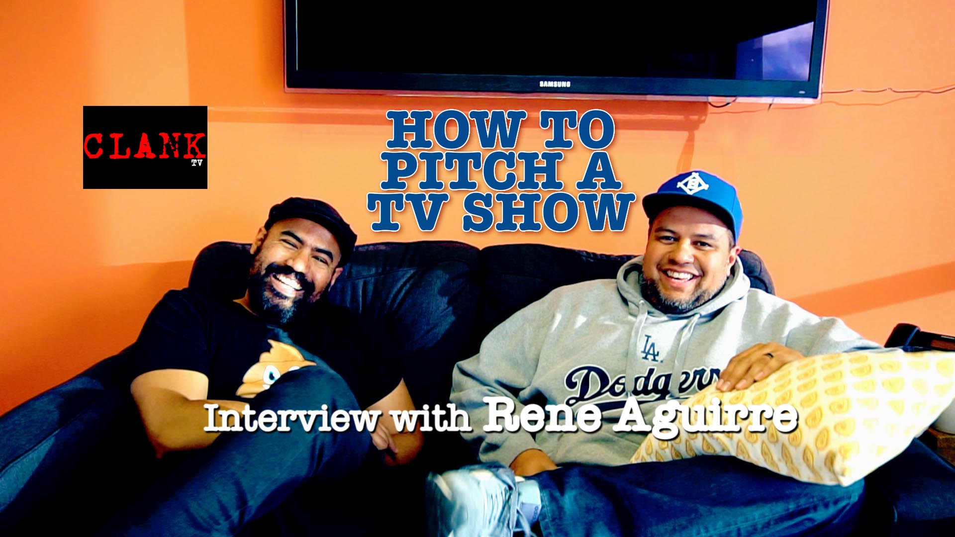 How To Pitch a TV Show (Things NOT to do) – Interview with Rene Aguirre