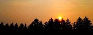 Center Orange Sunset