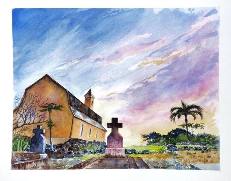 A Catholic Church on Maui