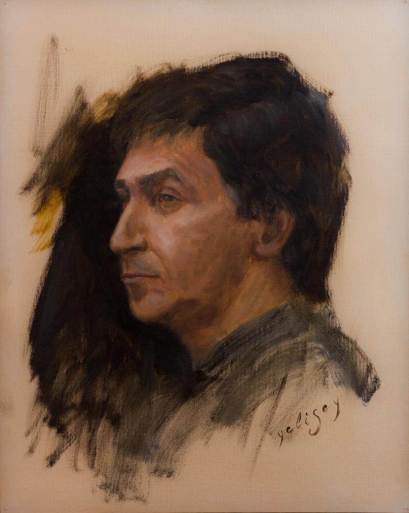 Yelisey Lobanov - Moscow, Russia Title: Michael Medium: Oil Size: 50 x 40 cm