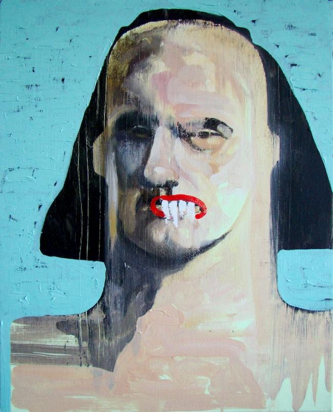 "Title: Portrait IX Medium: oil on canvas Size: 20"" x 16"""