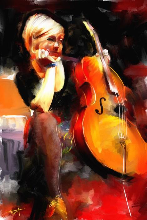 TitleSarah Balliet   MediumDigital Painting   Size24x30