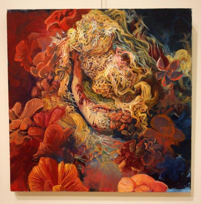 Title Rose   Medium oil on canvas   Size 20x20