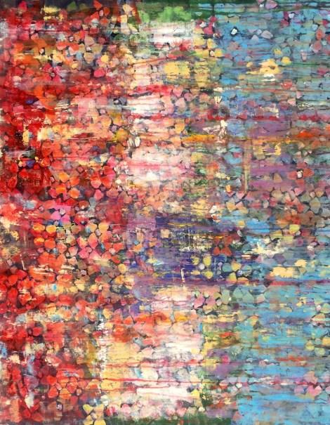 Title:Flowers Medium:Acrylic on canvas Size:115x97