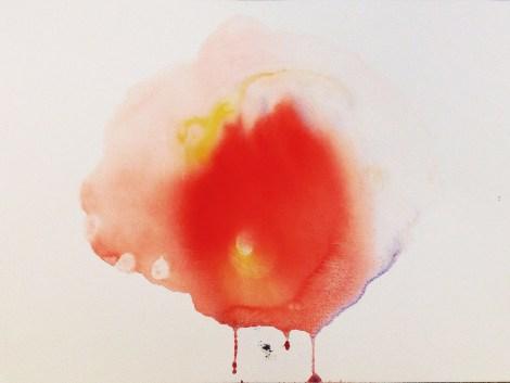 Title:Aguada IX Medium:Watered gouache on cotton paper Size:42,0 x 29,7 cm
