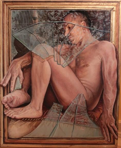Title:Idle Hands Medium:acrylic on canvas Size:16x20