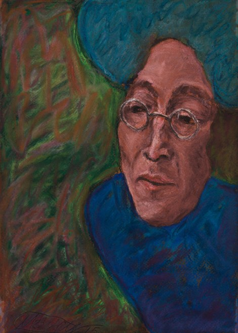 Title:INSPIRATION janis joplin Medium:pastel on paper Size:30x20 cm