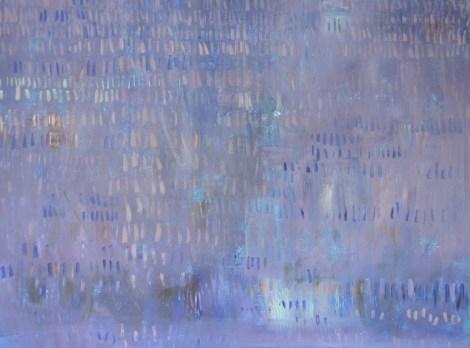 "Title:Mr. Purple Medium:Acrylic Size:36"" x 48"""