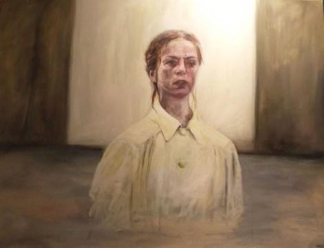Title: Misery Loves Company Medium: Acrylic on canvas Size: 40''x30''