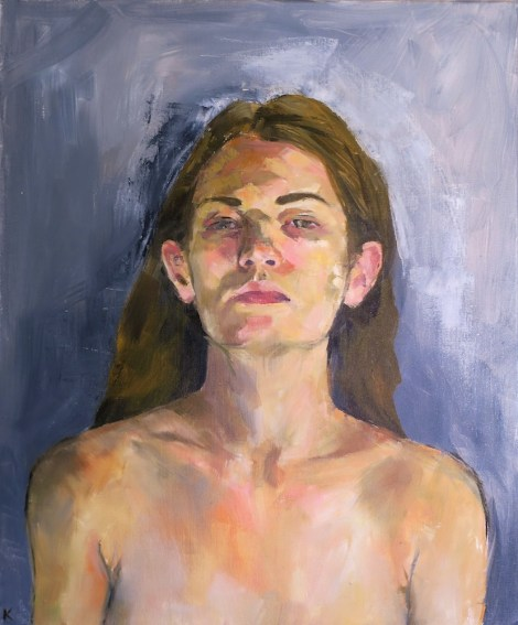 TitleSelf Portrait   Medium	oil on canvas   Size	20 x 24
