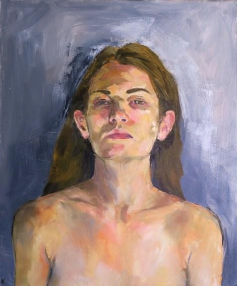 TitleSelf Portrait   Mediumoil on canvas   Size20 x 24