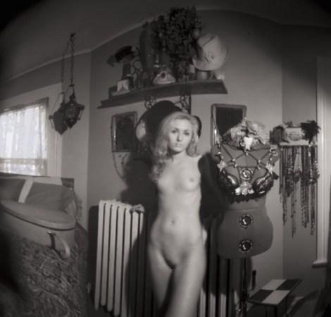 "TitleZoe_W_01-07-16--01AC   MediumPinhole camera - Archival pigment print   SizeH 19.14"" x W 20.00"" framed H 30"" x W 24"""
