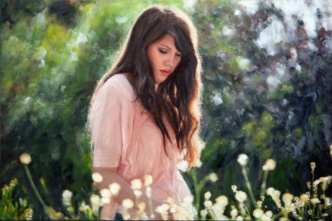 TitleVictoria Grace   Medium	Photography and oil painting   Size	16x12