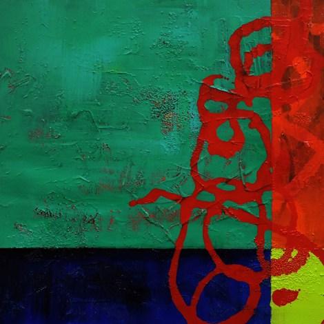 "Title:Traverse Medium:Acrylic & Mixed Media on Gallery Wrap Size:24x24"""