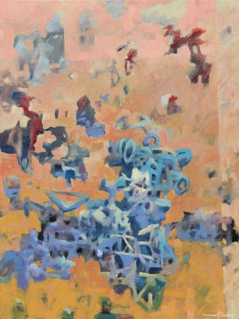 "Title:Modulas Medium:oil on canvas Size:40"" x 30"""