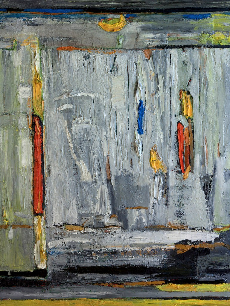 Title Outside the Game Medium Mixed Media on Panel Size 48x36x1.5in