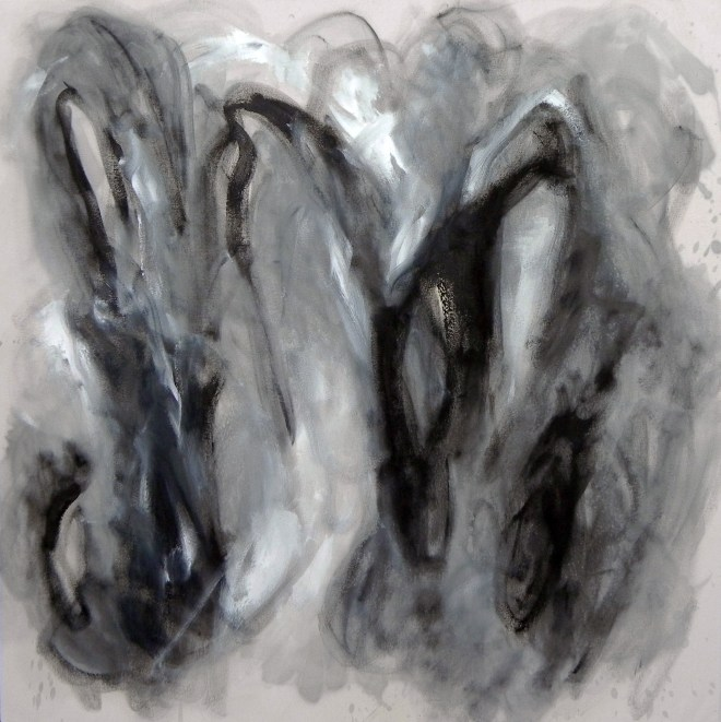 "Title Growth Medium Oil on canvas Size 36"" x 36"""