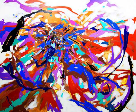 Title:URBAN BEAT Medium:Acrylic on canvas Size:160x195.5