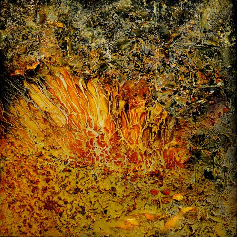 Title:Subliminal Medium:Oil on Canvas Size:91.4 x 91.4 cm