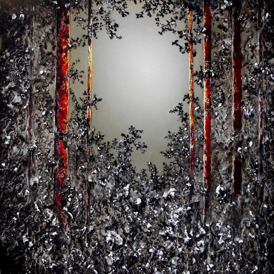 Title: Ulterior Medium: Oil on Canvas Size: 90 x 90 cm