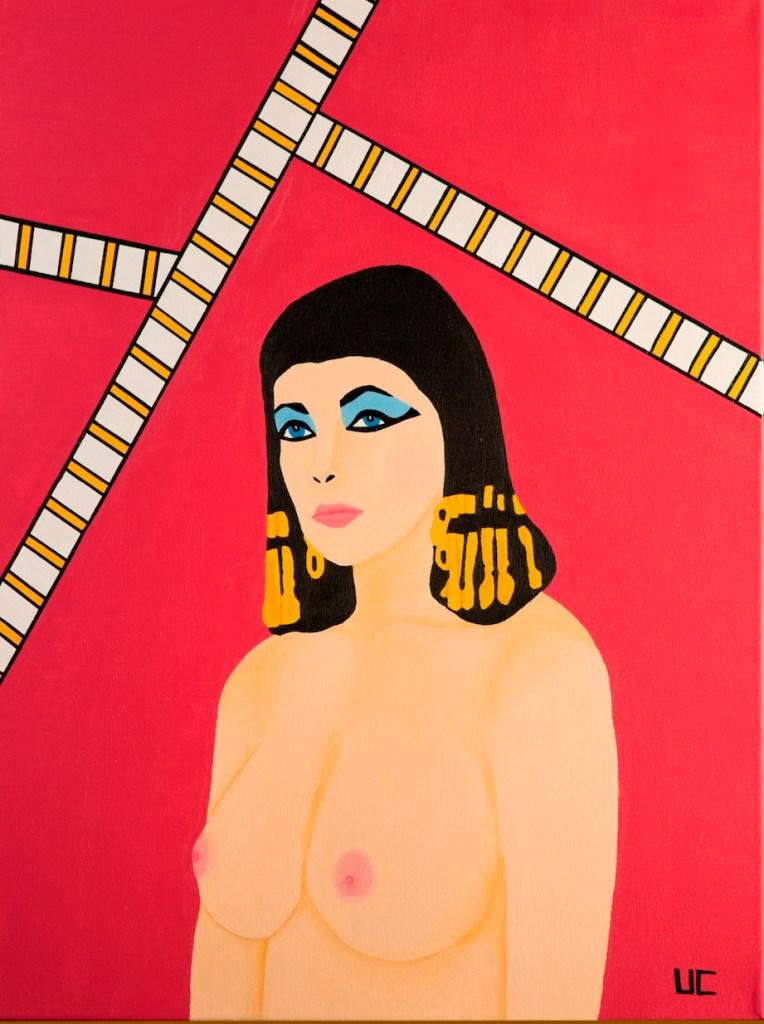 Title:Cleopatra Medium:Acrylic Size:18x24