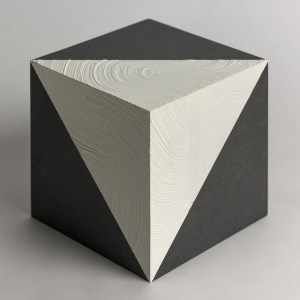 Title: Space | 空間 | No.1 Medium: Arcylic, wood cube Size: 15x15cm
