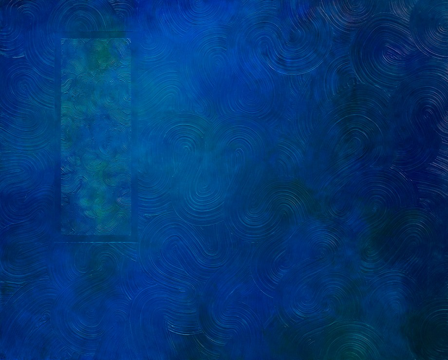 Title:Volume colour | 空間色 | No.1 Medium:	Acrylic on Canvas Size:	162.2 x 130.3cm