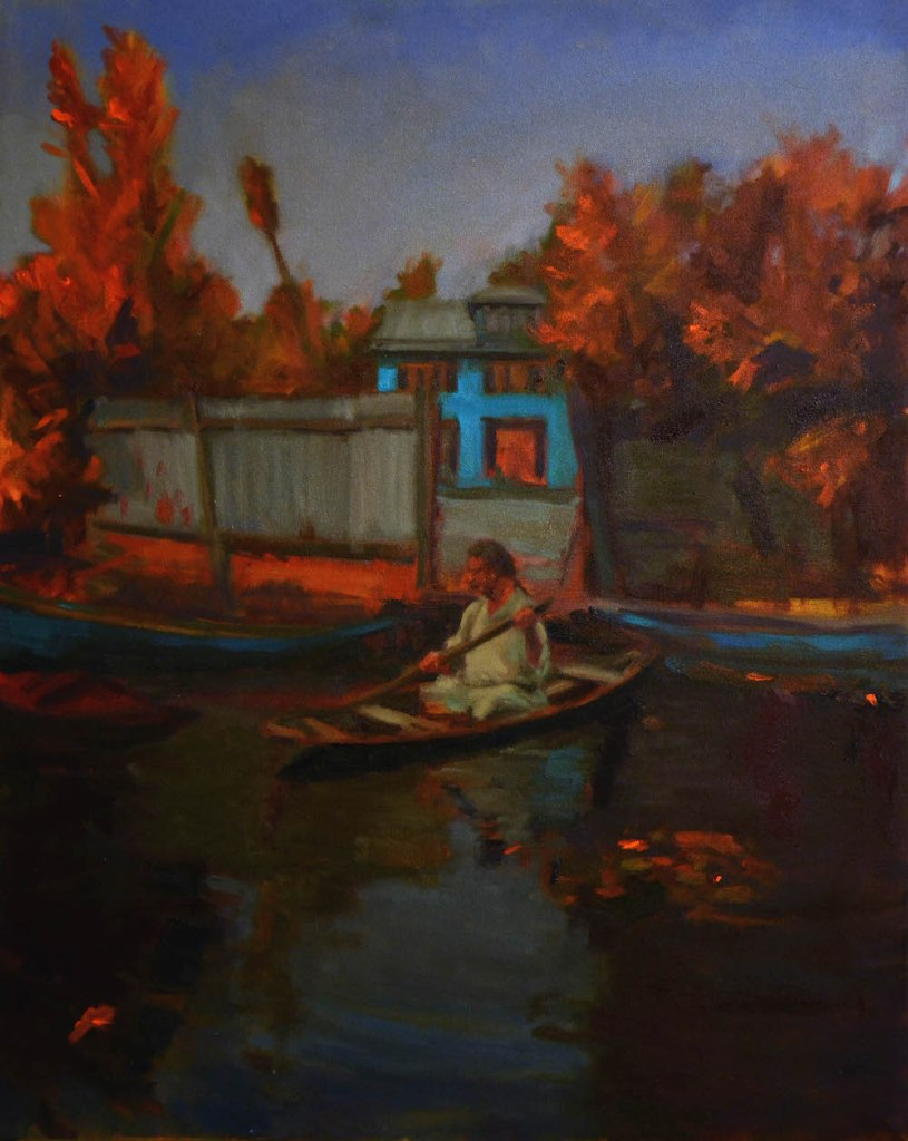 Title:On the Water Medium:Oil on Canvas Size:24 X 30 inches