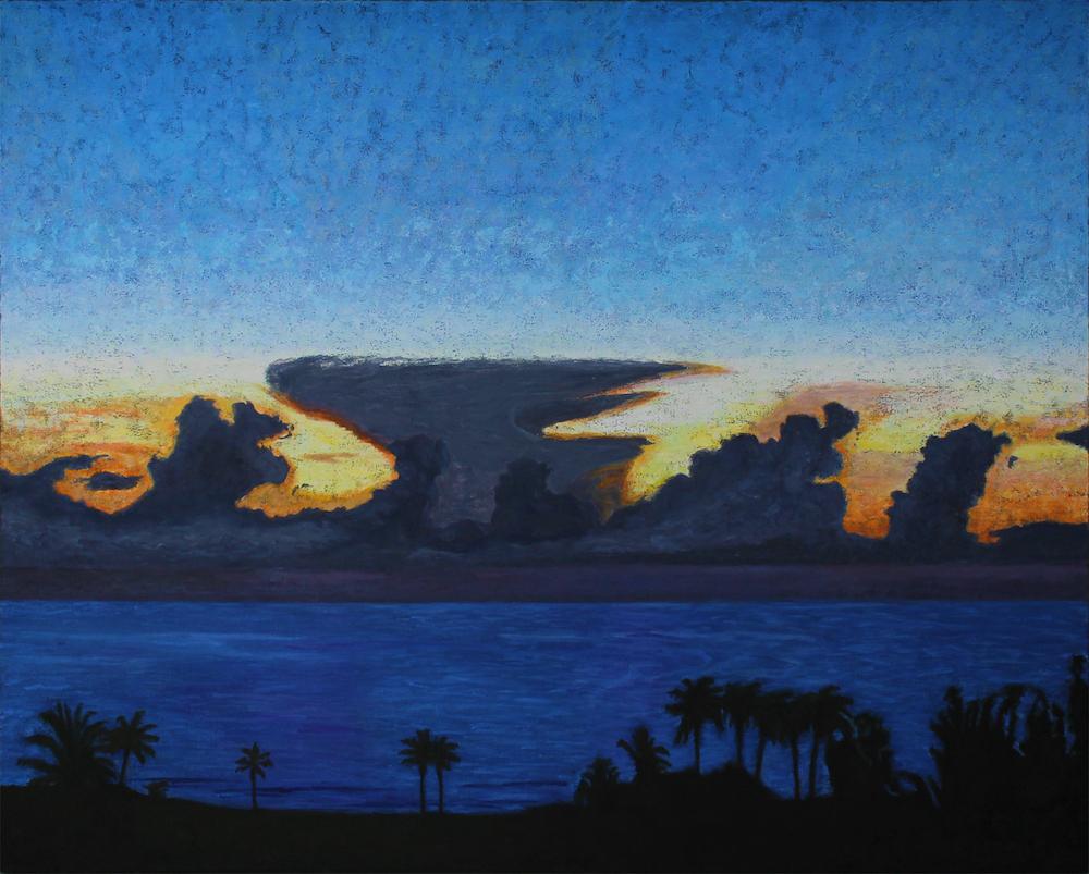 Title: Boca del Rio Medium: Oil Size: 48 X 60 inches