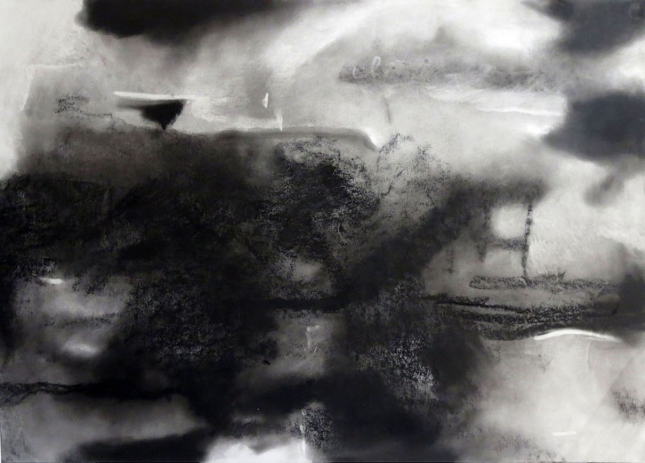 Title:untitled Medium:charcoal on paper Size:74 X cms104