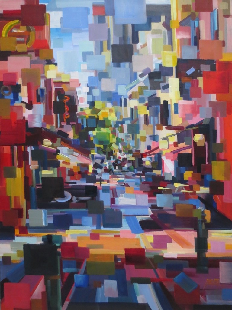 Title:Hardware Lane Medium:	oil Size:	40x30