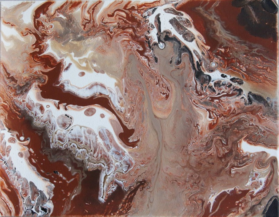 "Title:Jupiter Medium:	Fluid Acrylics Size:	11"" X 14"""