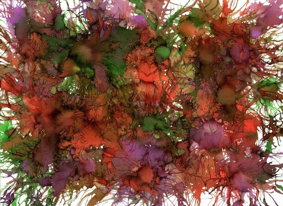 Title:Autumn Harvest Medium:watercolor Size:11x14