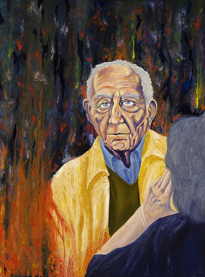 "Title:Carousel Medium:Oil on Wood Panel Size:36"" x 48"""