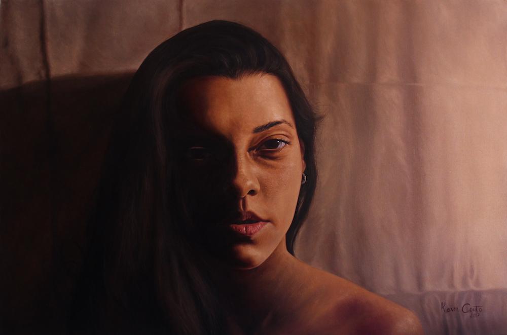 Title: Intimate Medium: Oil Size: 80x120 cm (31,5 x 47,5 in)