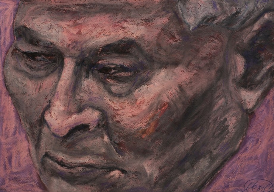 Title:DREAM FACTORY chernenko Medium:pastel on paper Size:20x30 cm