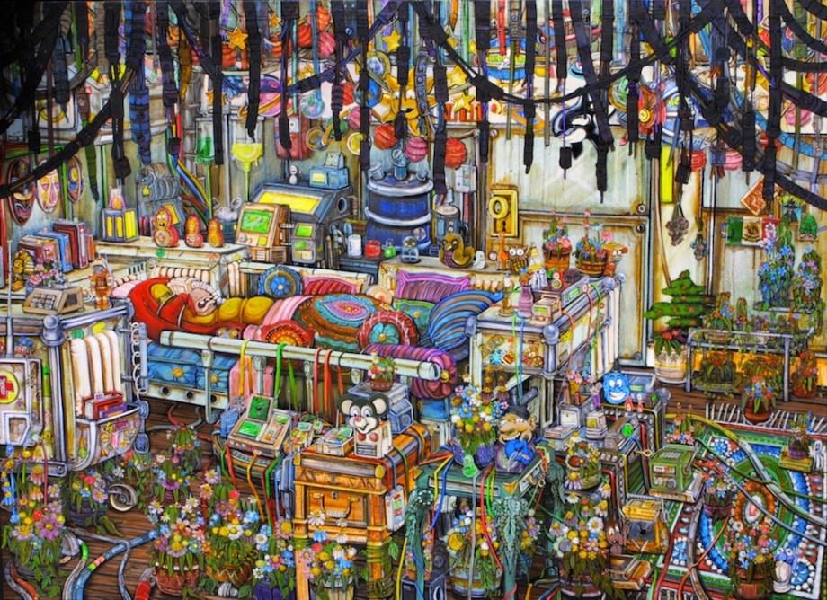 Title:gianni 3 Medium:acrylic on canvas Size:1603