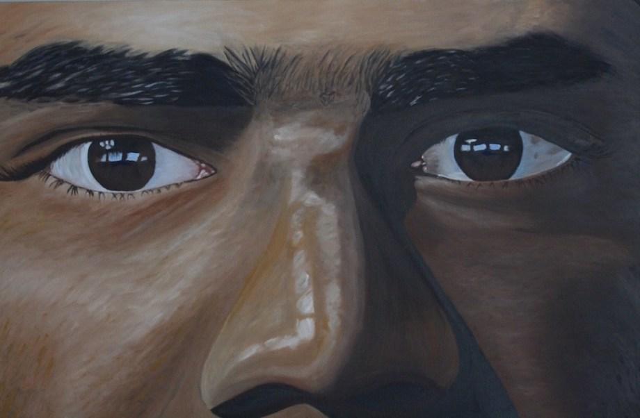 Title:The Eyes Medium:Oil on Canvas Size:24x36x1.0
