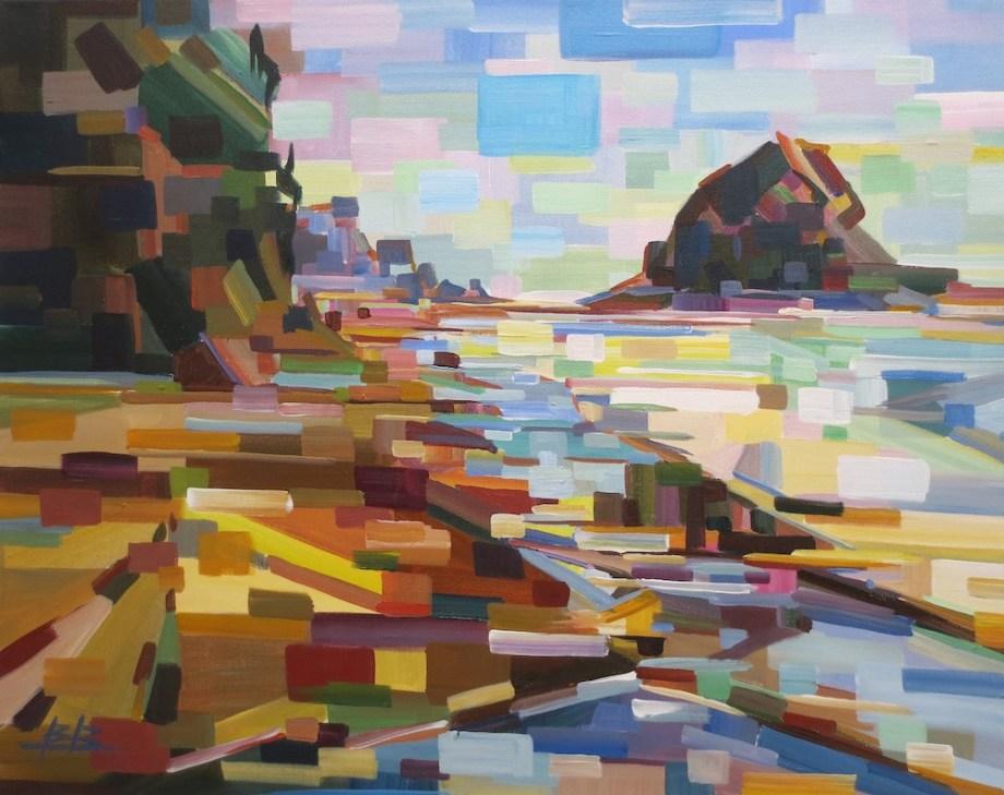 Title:Best Coast Medium:Acrylic Size:24x30