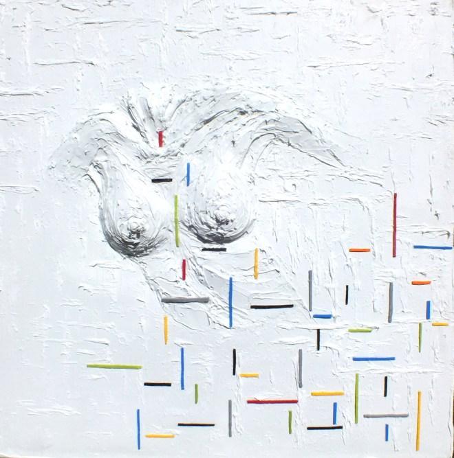 Title:Exposure Medium:silicone on canvas Size:80 x 80 cm