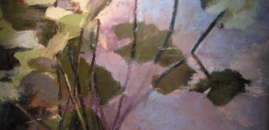 "Title:Intimacy Medium:Oil on canvas Size:24""x48"""