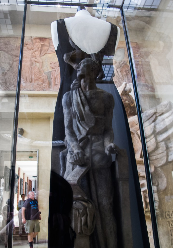 "Title:Statuesque Paris Museum Medium:single exposure photography Size:11.5"" x 8"""