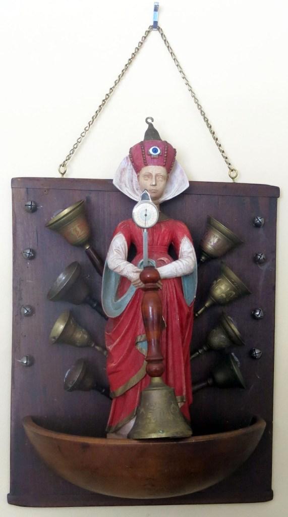Title:Resounding Belle Medium:Found Object Sculpture Size:12H x 15W x 6.5 D