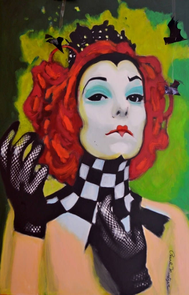 """Title:""""Queen Of Hearts"""" Medium:oil Size:24x36"""