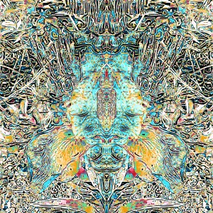 "Title: Insect Spirit Medium: Digital Mixed Media Size: 12"" x 16.5"""