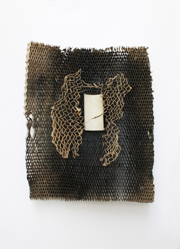 Title:Matrix Medium:glued cardboard Size:40x34,5x7cm