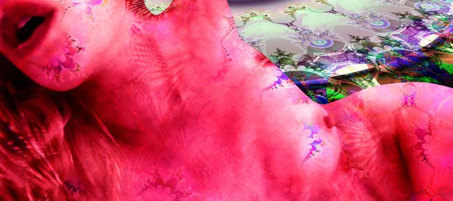 "Title:RED VENUS OF URBINO Medium:digital on high gloss aluminum Size:14w"" x 6h"""